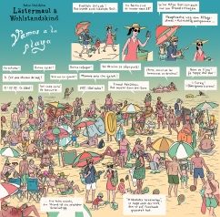 """Vamos a la playa""/ Tagesspiegel/ 23. August 2015"