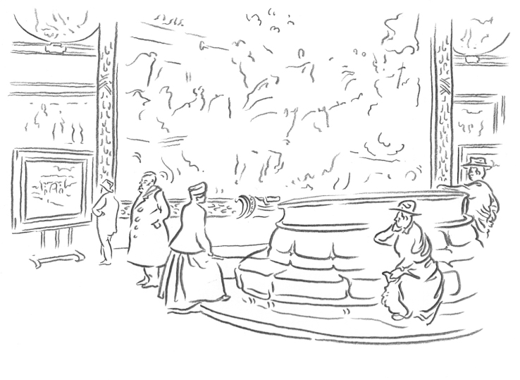 besucher cornelius-saal